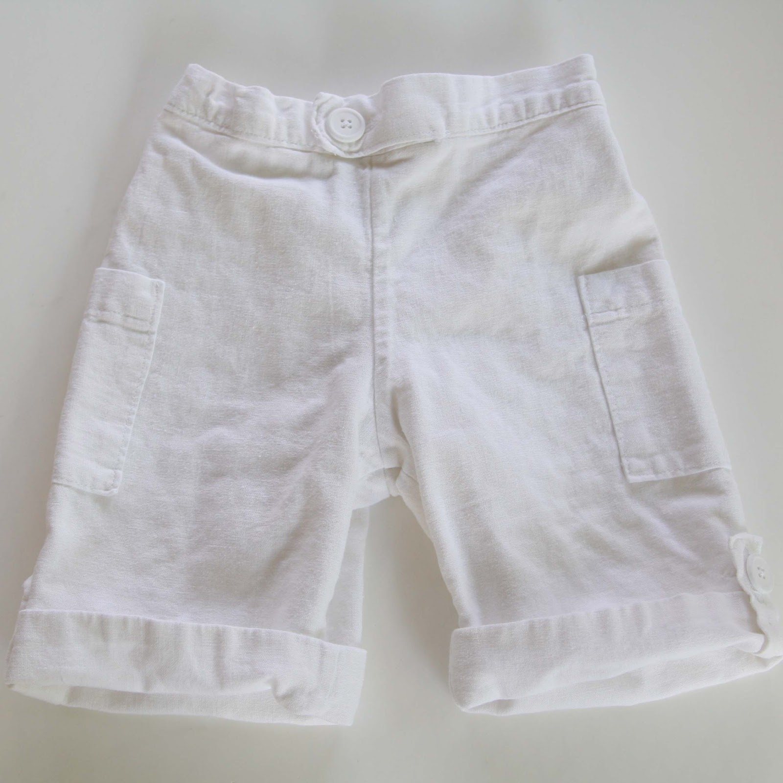 Quick tutorial - how to line shorts...and an announcement - Melly Sews