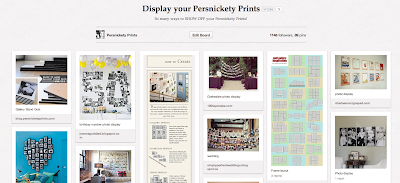 Pinterest Pin Board Photo Wall