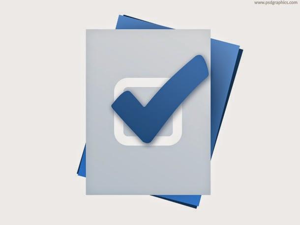Task Accomplished Icon PSD