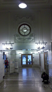 Waiting room in Seattle's historic King Street Station