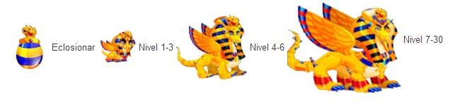 crecimiento del dragon faraon