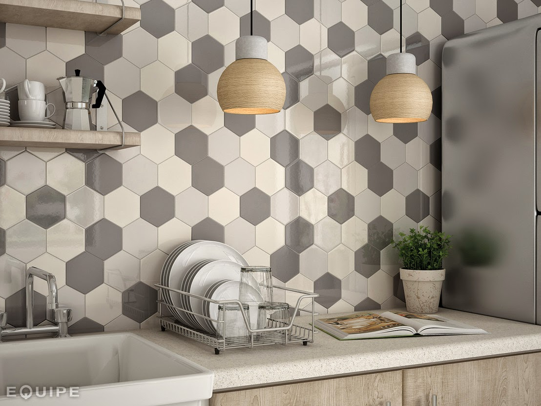 Blog dla ludzi z wn trzem p ytki heksagonalne - Piastrelle geometriche cucina ...