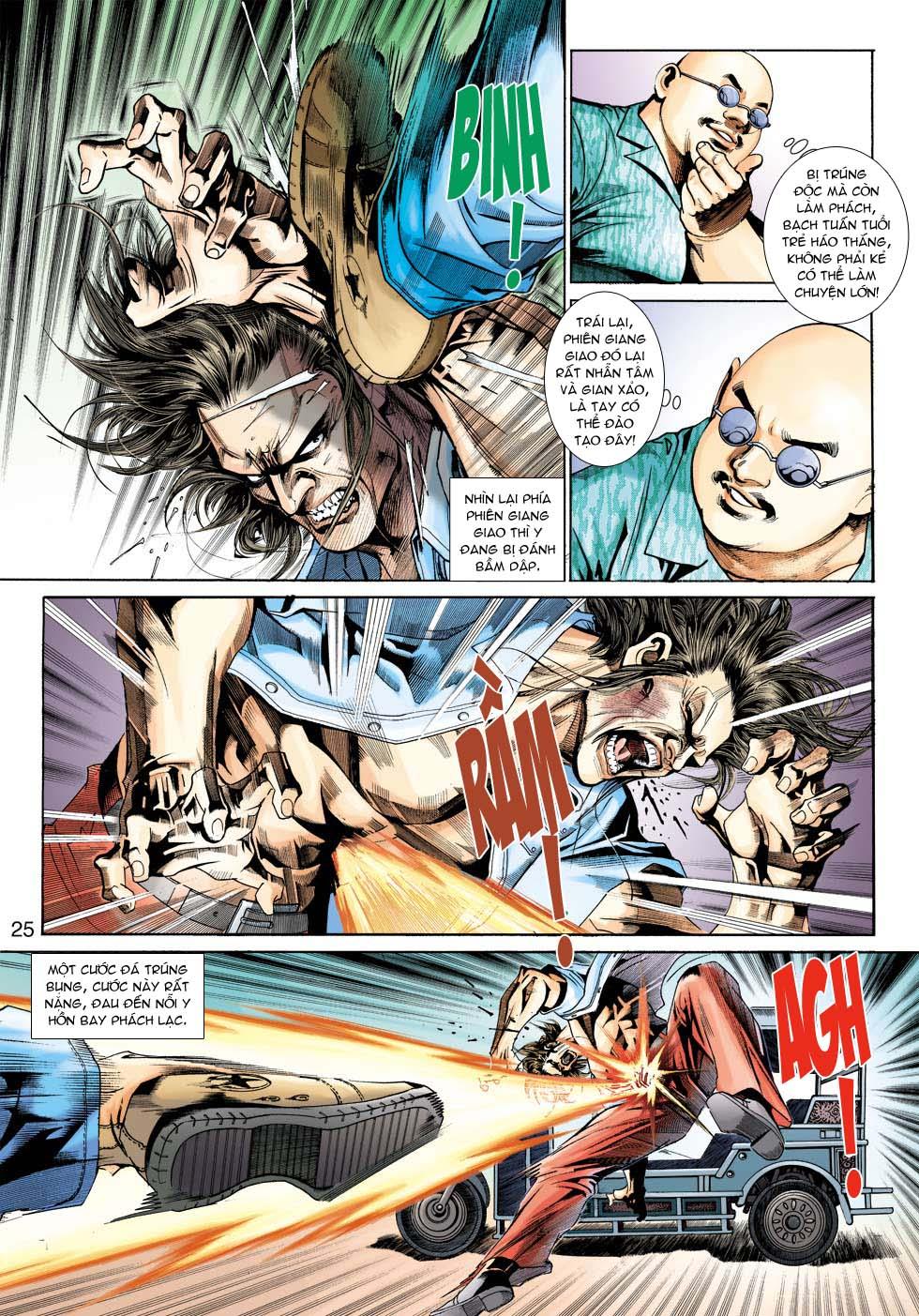 Tân Tác Long Hổ Môn chap 343 - Trang 25