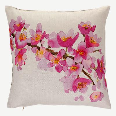 pink cushion amara