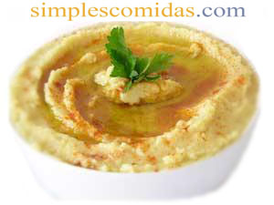 humus de garbanzos