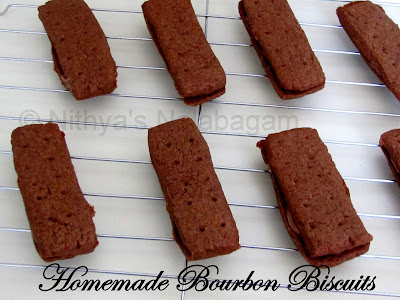 Homemade Bourbon Biscuits