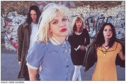 90s grunge Courtney Love