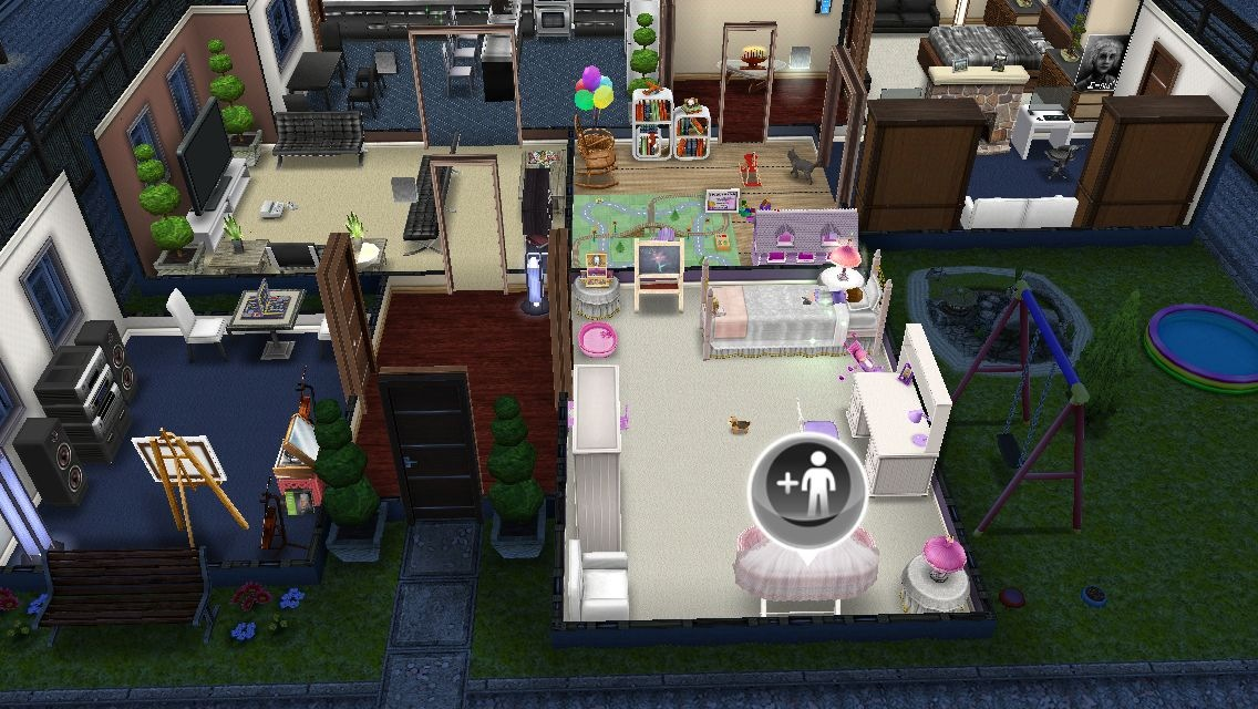 Sims freeplay casa dise ada por el jugador for Casa de diseno sims freeplay