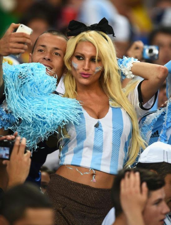 Hottest fans of the World Cup