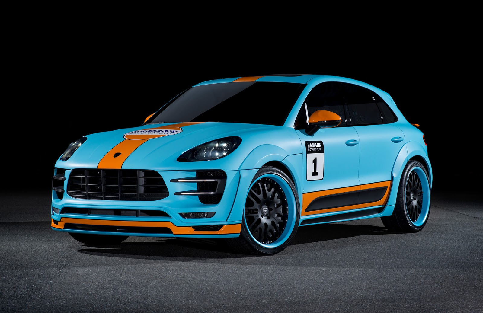 hamann 39 s porsche macan s diesel just don 39 t call it gulf oil livered carscoops. Black Bedroom Furniture Sets. Home Design Ideas