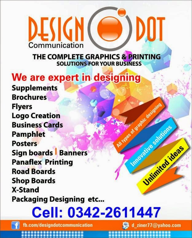 all types of graphic designing innovative solutions unlimited ideas designed various promotional materials and advertising campaigns for various clients