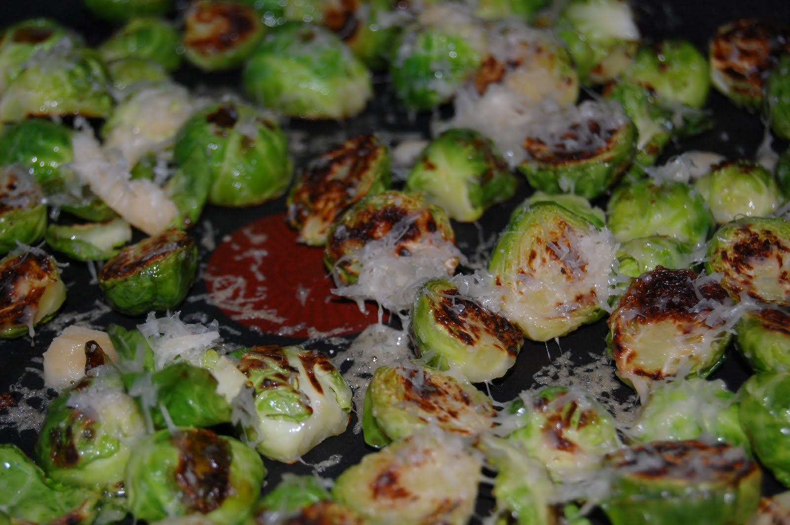 Kitchen Curiosities and more...: Golden-Crusted Brussels Sprouts