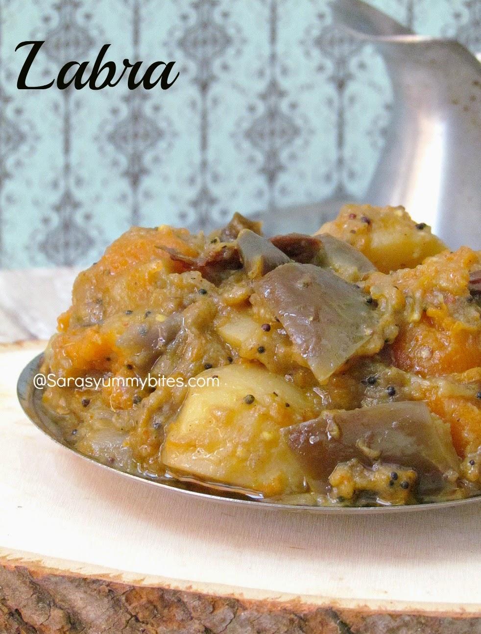 Labra ~ Assamese Vegetable curry