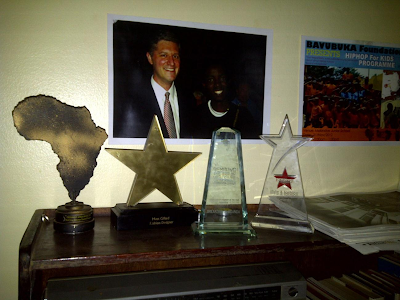 Some Of The Awards At Bavubuka HQ