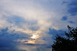 Regenhimmel...