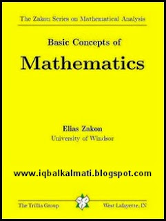 Basic Concepts of Mathematics by Elias Zakon