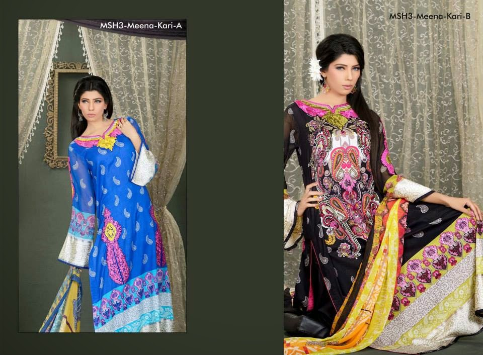 MashaalEmbroideredCollection2014VOL 03ByLalaTextile 12  - Mashaal Embroidered Collection 2014 VOL-3