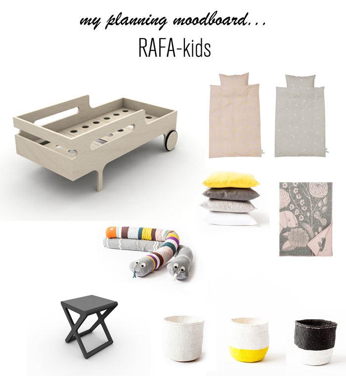 toddler room inspiration from Rafa-kids