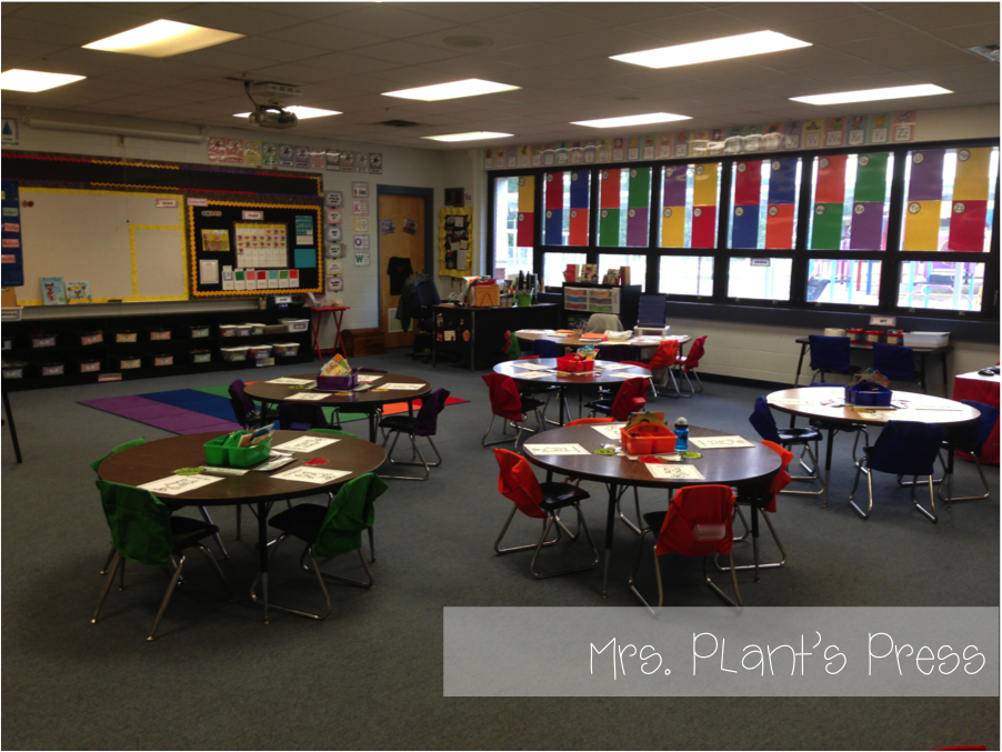 Beautiful Elementary Classrooms ~ Ready for the first day primary press