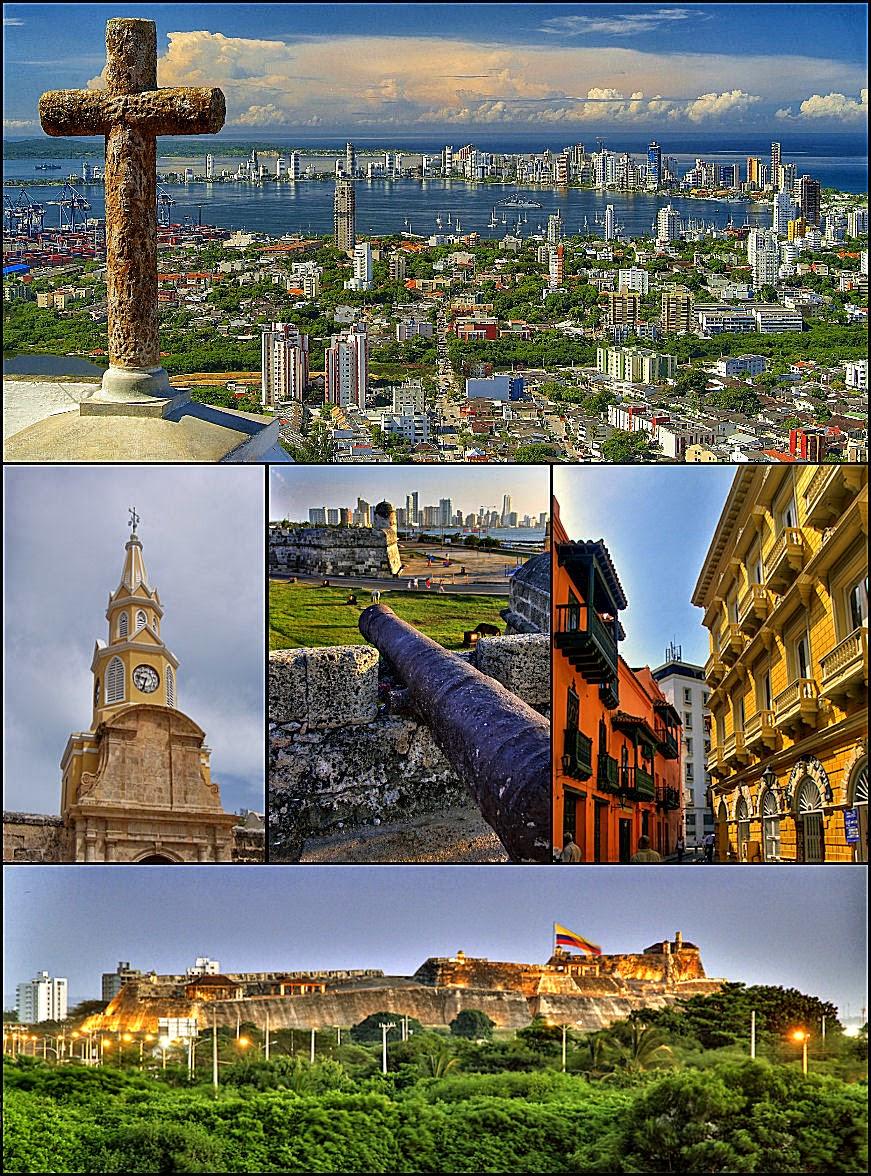 Mosaico de Cartagena de Indias
