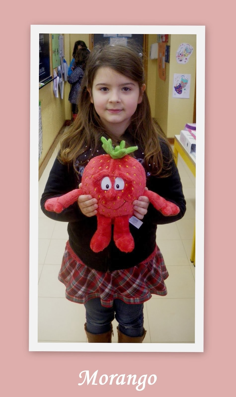 O morango da Júlia