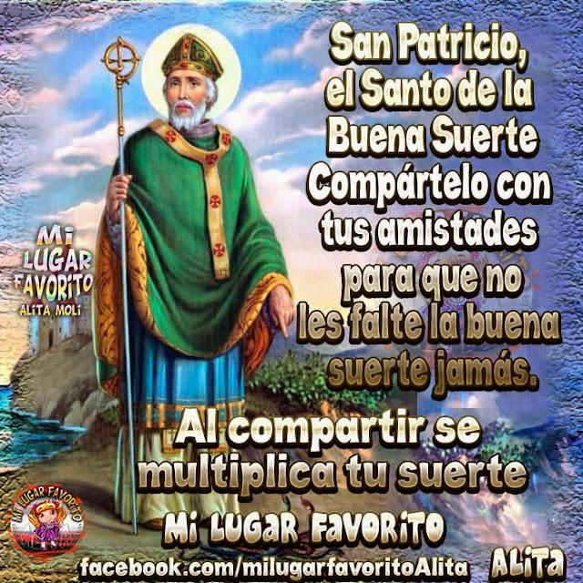Alita moli san patricio el santo de la buena suerte - Para la buena suerte ...