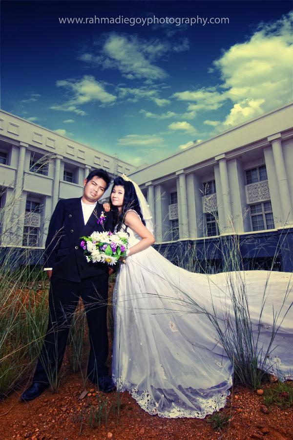 foto prewedding konsep gaun eropa 9