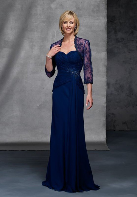 Whiteazalea mother of the bride dresses blue dress for for Long dress for wedding mother of the bride