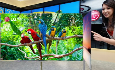 LG 55-inch OLED HDTV with 4-Color Pixels coming soon