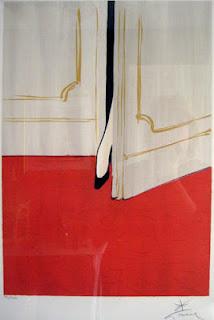 rené gruau illustration affiche surprise pied femme escarpin vanessa lekpa