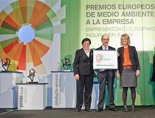 entrega premio europeo medio ambiente