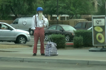 Man seen regularly on the street.