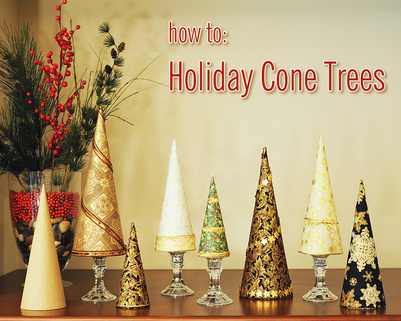 how to make a cone piece out of can