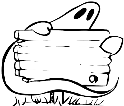 Halloween Sign Coloring Pages