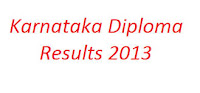 dte.kar.nic.in | Karnataka Diploma Results 2013 of April May Exam