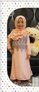 baju gamis muslim anak terbaru
