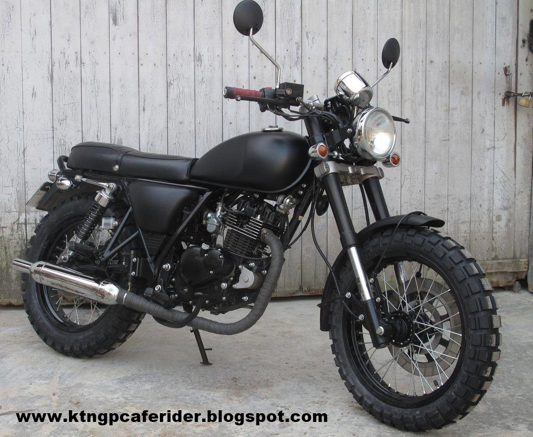 Cafe Racer GP Brat Tracker Rat Malaysia 125 For Sale KTN GP125 Bought