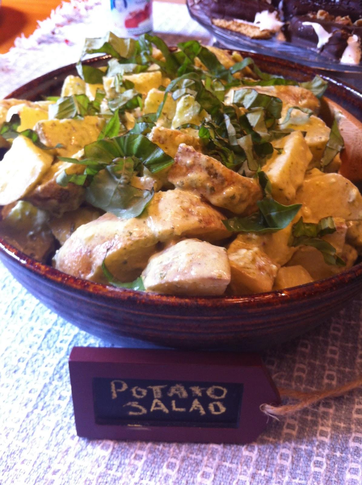 Creamy Lemon Basil Potato Salad Recipes — Dishmaps