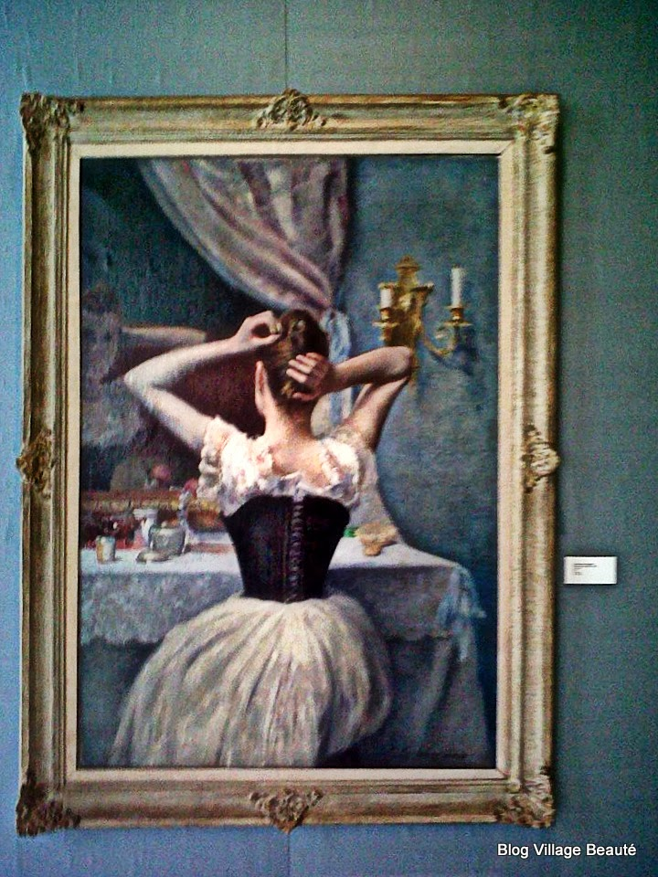 Detalhe da obra La Toilette, de Eduardo Schiaffino - Museo Superior de Bellas Artes Palacio Ferreyra