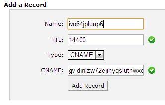 Add record qwords
