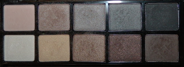 Annabelle Smoky Nudes Eyeshadow Palette