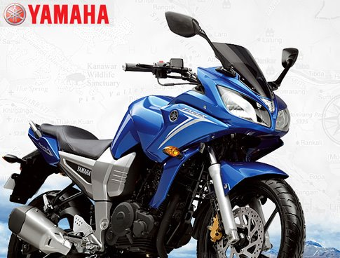 World of Bikes & Cars: Yamaha Fazer 150cc Wallpaper
