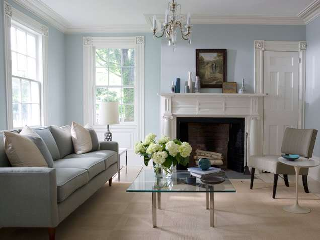 Living room decorating design best color for living room walls - Blue living room color schemes ...