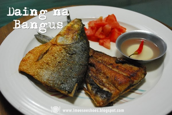 fried milkfish, brown, bangus