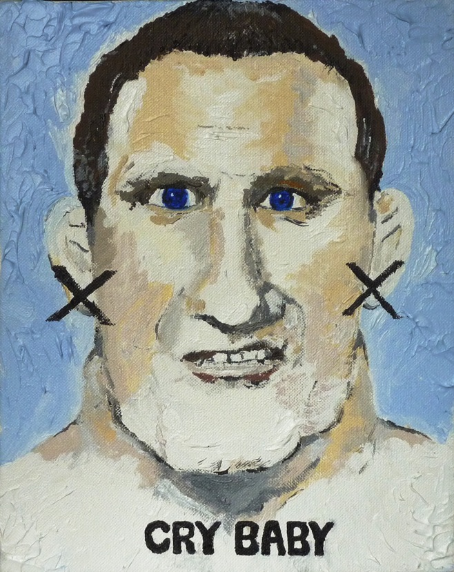 outsider music big daddy jim breaks - wrestle paintings for sale