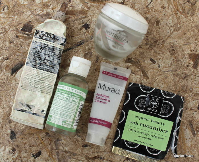 One Little Vice UK Beauty Blog: Aesop, A-derma, Murad, Apivita, Dr Bronners