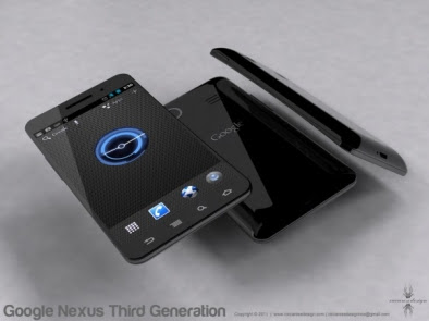 New Google Nexus Prime Phone picture