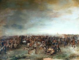 COMBATE DE SAN LORENZO (03/02/1813) GRANADEROS DE SAN MARTÍN Vs REALISTAS (Españoles)