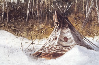 Winter Tipi