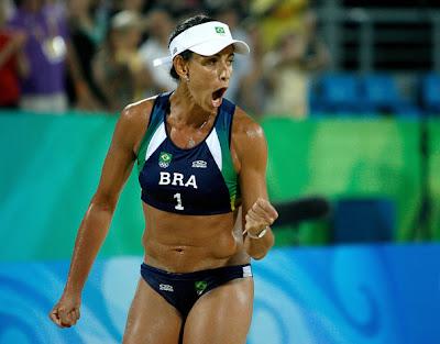 Hot Women beach volleyball